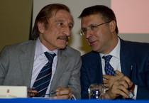 Lorenzo Diana con Raffaele Cantone (ANSA)