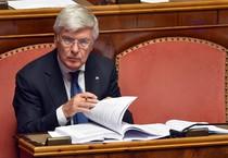 Il capogruppo di Fi al Senato, Paolo Romani (ANSA)