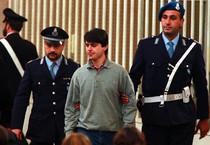 Giovanni Scattone all'epoca del processo per l'omicidio di Marta Russo (ANSA)