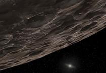 Rappresentazione artistica di un pianeta nano ai confini del Sistema Solare (fonte: NASA/JPL-Caltech/T. Pyle, SSC) (ANSA)
