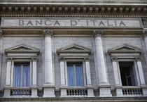 Veduta esterna della sede della Banca d'Italia, Palazzo Koch, a Roma in una foto d'archivio