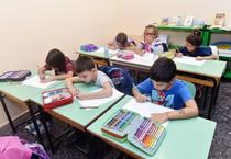 Primo giorno di scuola (ANSA)