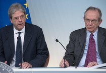 Italy, press conference after the Council of Ministers (ANSA)