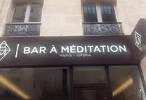 a Parigi zen in 30 minuti. il bar a Meditaton, vicino a L'Opera (ANSA)