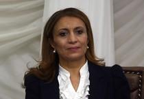 Souad Abderrahim del partito moderato islamico Ennahda è diventata il primo sindaco donna della storia della Tunisia (ANSA)