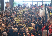 State funeral for the victims of the Genoa highway-bridge-collapse disaster (ANSA)