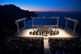 Il palcoscenico del Festival di Ravello