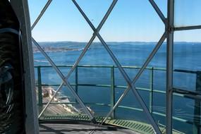 La vista dal Faro della Vittoria. Riaperto alle visite il 26 aprile  ha fatto subito il tutto esaurito (ANSA)