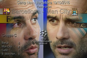 Champions, Barcellona-Manchester City
