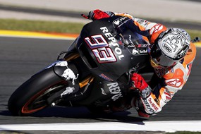 MotoGP pre-season testing in Cheste