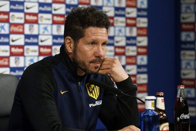Atletico Madrid's press conference