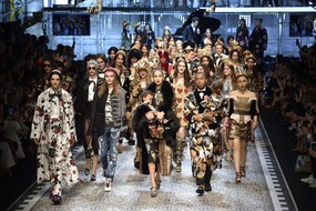 Milan Fashion Week: Dolce and Gabbana (ANSA)