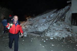 Earthquake in central Italy (ANSA)