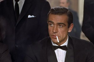 Sean Connery nel ruolo di James Bond  (ANSA)