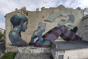 Street art europea (ANSA)