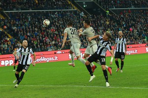 Serie A: Udinese-Juventus 0-2  (ANSA)