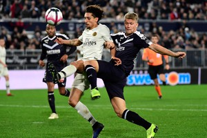 Girondins Bordeaux vs Paris Saint-Germain PSG (ANSA)