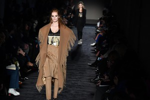Italy Fahion: Women fall/winter 2018/19 collection; Max Mara (ANSA)