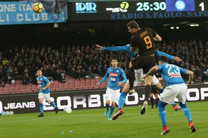 Calcio: Serie A ; SSC Napoli - AS Roma (ANSA)