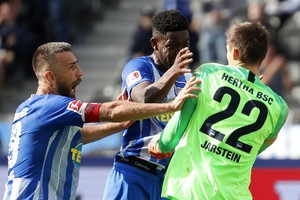 Hertha Berlin vs 1.FC Nuremberg (ANSA)