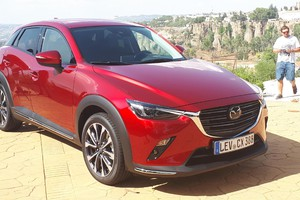 Mazda CX-3, ecco il city crossover controcorrente (ANSA)