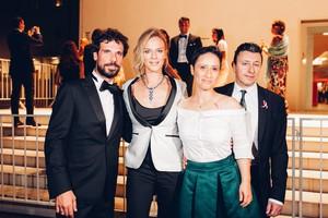 Il red carpet del corto a Venezia La notte prima  (ANSA)