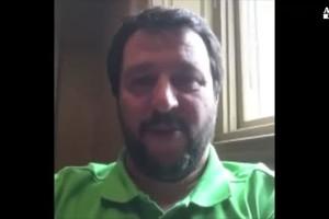 Salvini doppiato da Celestini (ANSA)