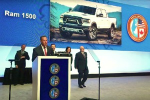 Ram 1500 di FCA è North American Truck of the Year 2019 (ANSA)