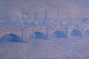 Waterloo Bridge di Monet (ANSA)