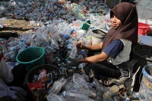 Recycling in Indonesia, the world's second-largest plastic waste producer (ANSA)