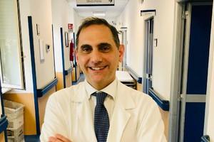 Roberto Palumbo, direttore dell'unità di nefrologia dell'ospedale Sant'Eugenio di Roma (ANSA)