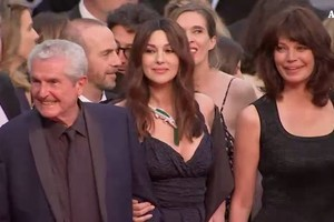 Cannes, Monica Bellucci sul red carpet (ANSA)