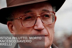 Giustizia in lutto, morto Francesco Saverio Borrelli (ANSA)
