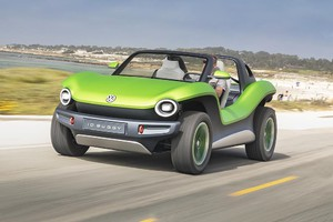 Volkswagen ID Buggy, in California c'è chi l'ha già guidato (ANSA)