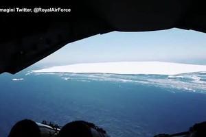 Si scioglie l'iceberg piu' grande del mondo, si era staccato dall'Antartide nel 2017 (ANSA)