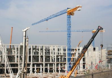 Un cantiere edile (ANSA)