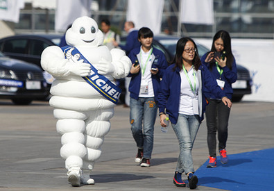 L'omino Michelin (ANSA)