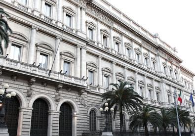 La sede della banca d'italia in via Nazionale a Roma (ANSA)