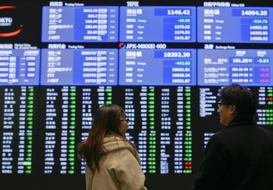 Borsa e mercati: spread Btp-Bund a quota 100 (ANSA)
