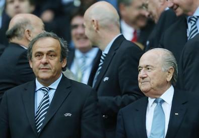 Platini e Blatter, divisi dopo lo scandalo Fifa (ANSA)