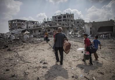 Ritorno a Gaza (ANSA)
