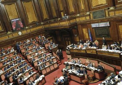 Aula del Senato (ANSA)
