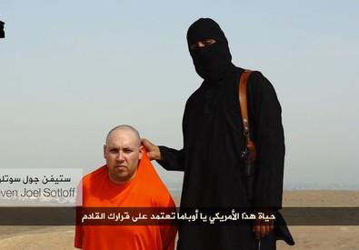 Il boia dell'Isis (ANSA)