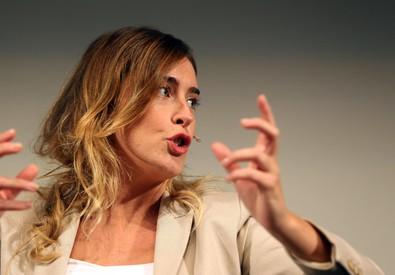 Il ministro per i Rapporti con il Parlamento Maria Elena Boschi (ANSA)