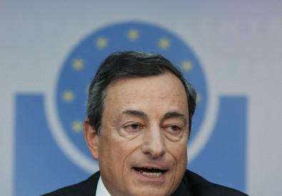 Mario Draghi presidente della Bce (ANSA)