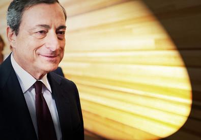 Il presidente della Bce Mario Draghi (ANSA)