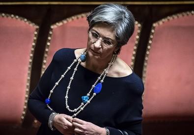 La presidente della commissione Affari Costituzionali del Senato Anna Finocchiaro (ANSA)