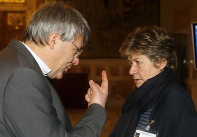 Maurizio Landini e Susanna Camusso (ANSA)