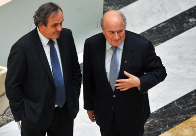 Platini e Blatter (ANSA)