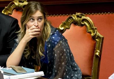 Maria Elena Boschi in una recente foto (ANSA)